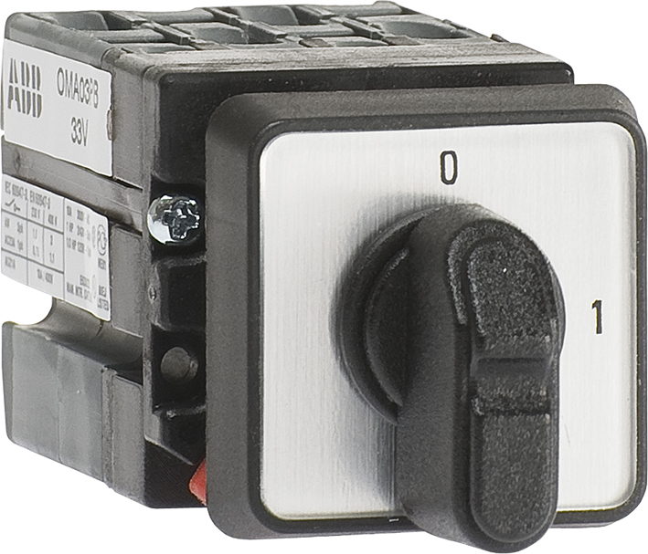 0-I Cam Switch, Miniature, Door Mounted, Rotating Angle 90Gr, O-Position: 12 Hour product photo