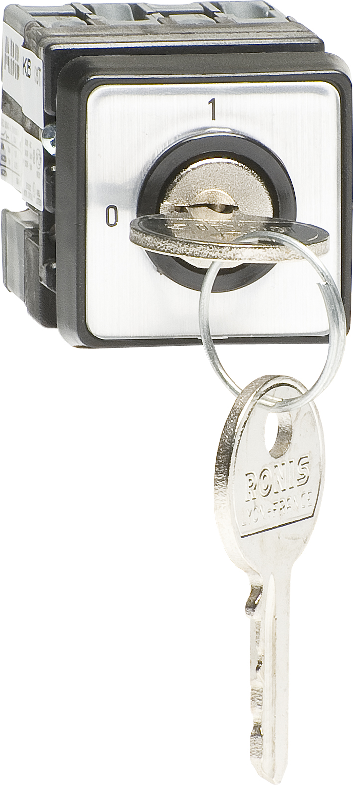 0-I Cam Switch, Miniature, Door Mounted, Key Operated, Withdrawable In Both Posit product photo