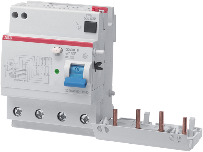 Rcd Block, 4 Pole, Type B, Ap-R 40A , 0,03A product photo